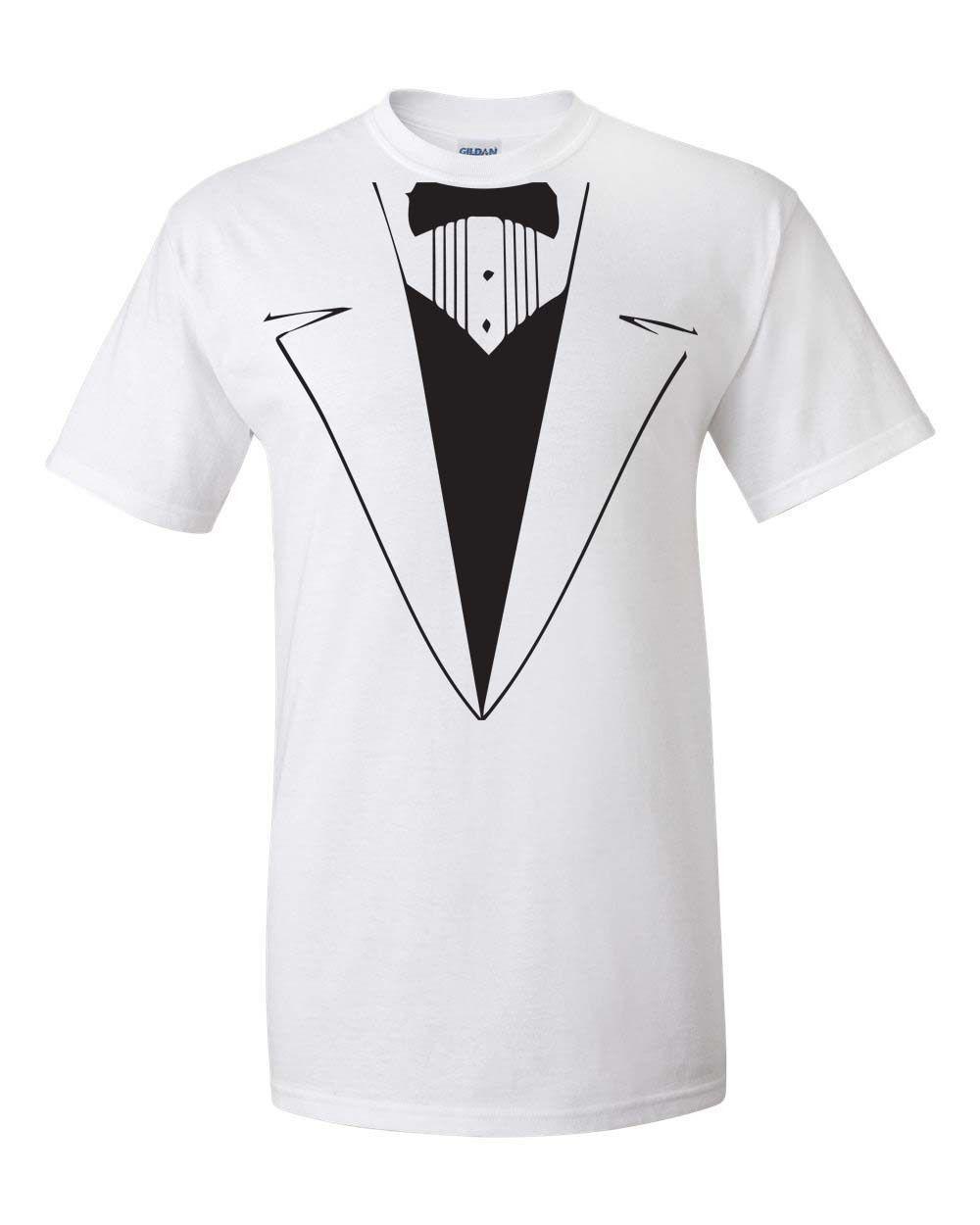 0c667fba Wholesale Discount Summer Fashion Funny Print T Shirts Tuxedo Tux Wedding  Funny Gift Groom College Party Men'S Tee Shirt Funny Tshirts Long Sleeve  Shirts ...