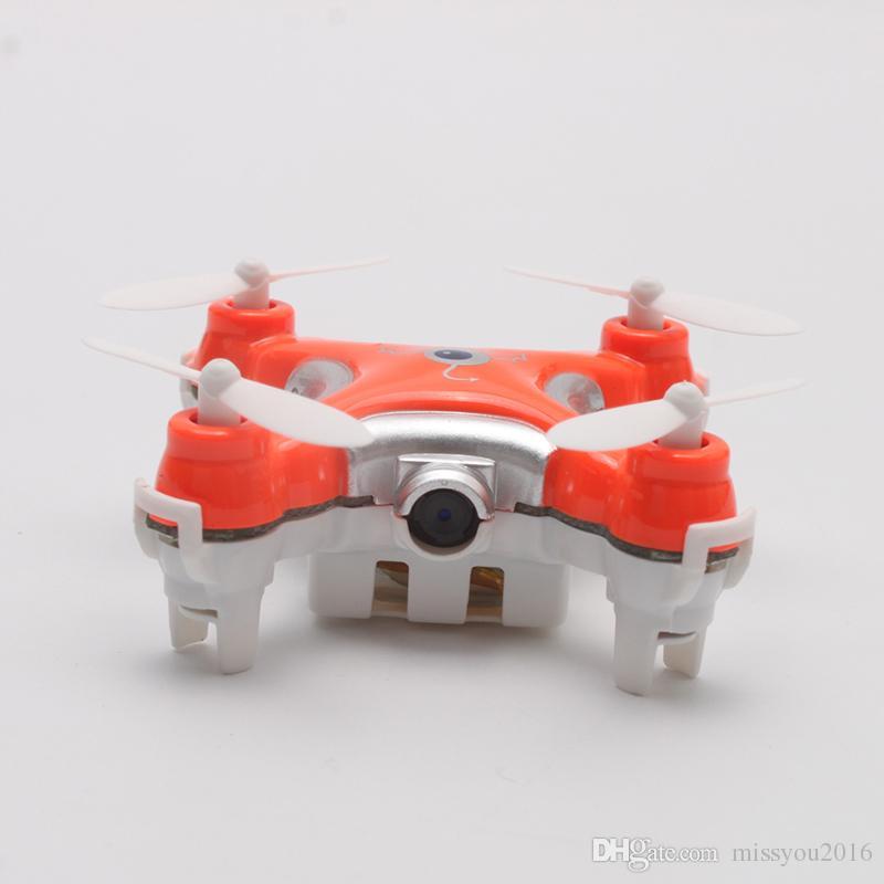 Drone con fotocamera 0.3MP CX-10C RC Quadrocopter 2.4G 6-Axis Gyro RC Micro elicottero giocattolo di controllo remoto bambini Mini Dron