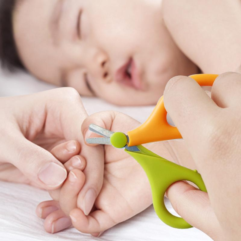 Child Baby Infant Finger Toe Nail Clipper Scissor Cutter Safety ...