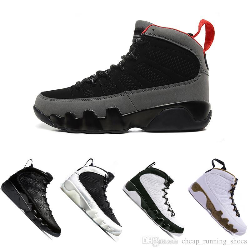 f7ab18096ed8e0 2018 New 9 Men Basketball Shoes 2010 RELEASE Black White High Bred ...