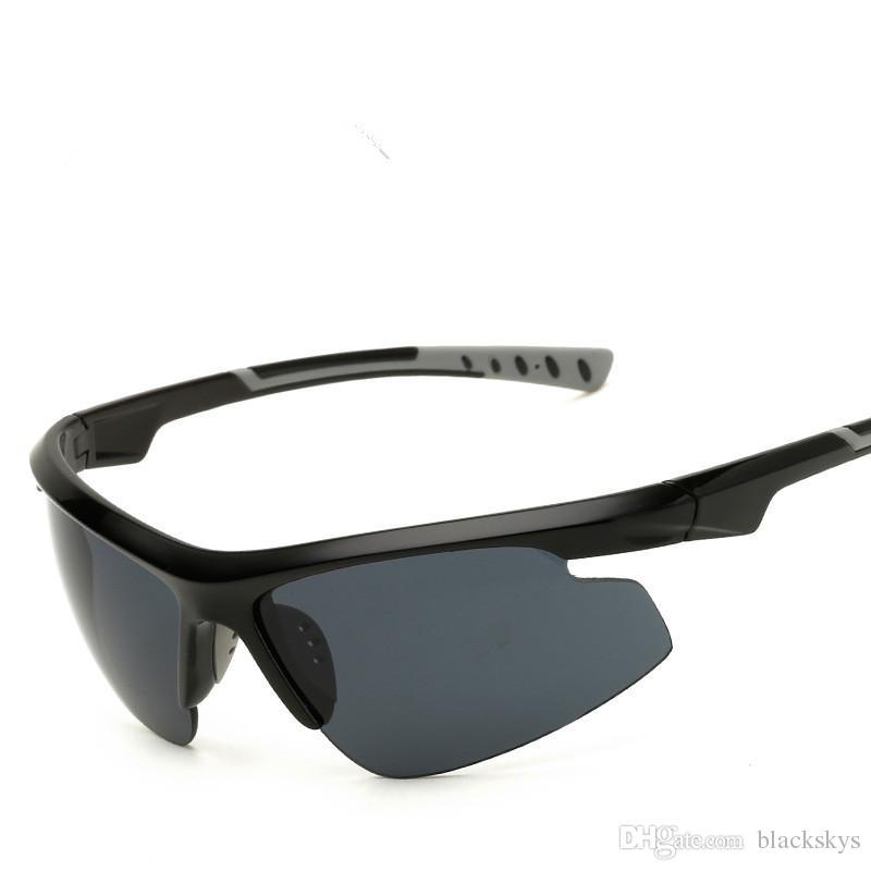 UV400 Ciclismo Occhiali Sport all'aria aperta MTB Occhiali da moto Occhiali antivento Occhiali da sole da motociclista
