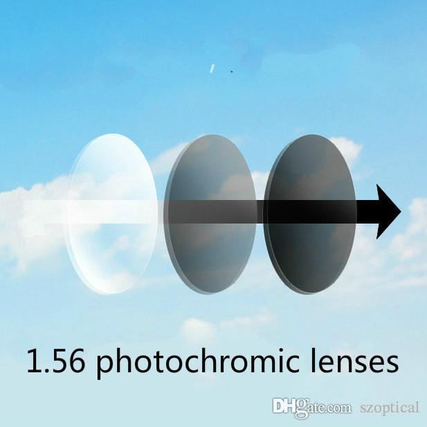 ff3282a386 Customized Photochromic Lenses 1.56 Refractive Index Aspherical Rx ...