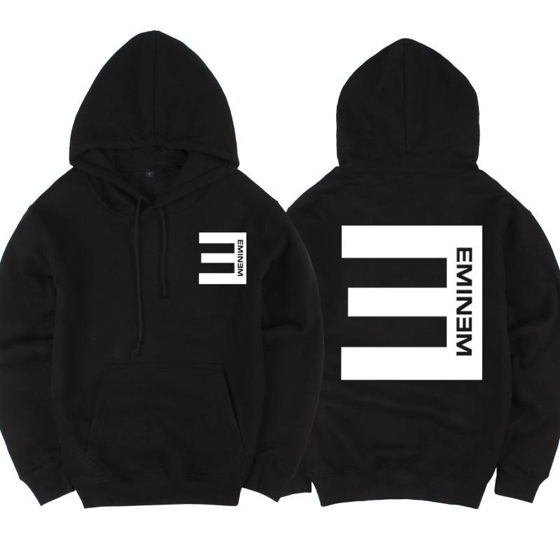 Imprimé Pull Épais Hommes Polaire Hoodies Eminem Eminem2018 Acheter PXSxgc