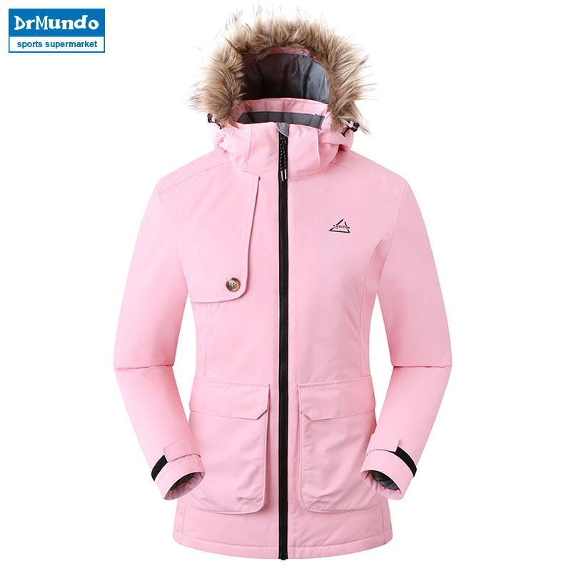 2018 New Outdoor Waterproof Ski Jacket Women Windproof Snowboard ... 1eccd5152