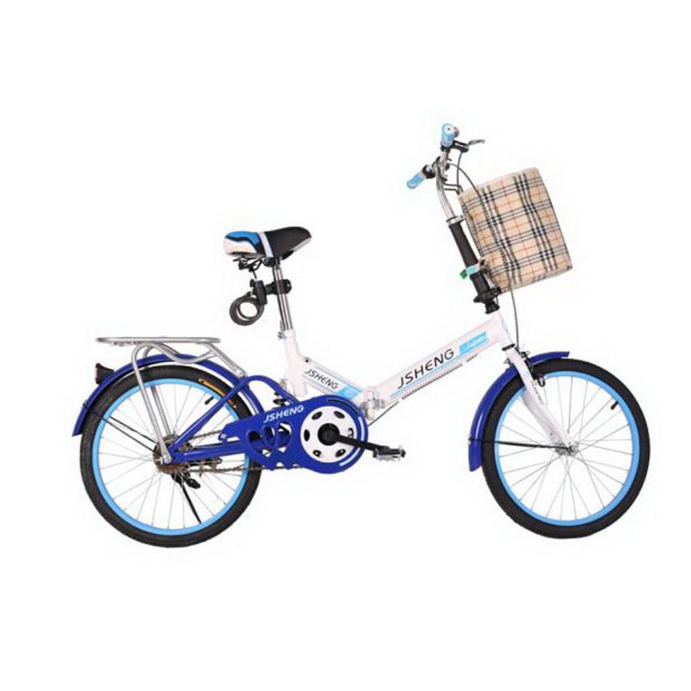 161007/ 20 Inch Portable Portable Male And Female Folding Bike ...