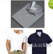 New Brand 2018 small Horse embroidery Polo Shirt Men Short Sleeve Casual Shirts Man's Solid Polo Shirt Plus 5XL 6XL Camisa Polo