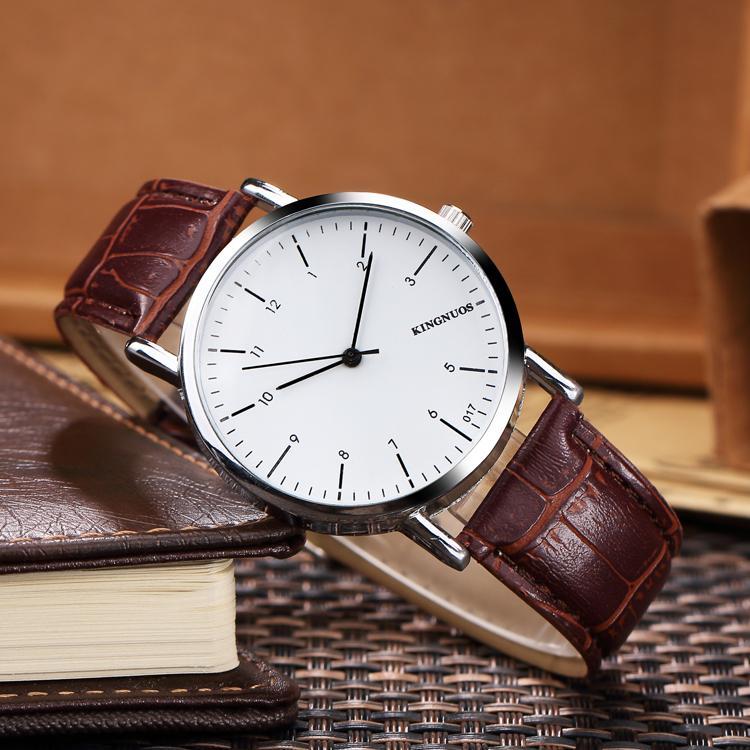 2018 Sıcak Satış Moda lady saatler kahverengi deri İzle erkekler Bilezik Kol Marka hediye kutusu ile ünlü marka ile erkek saat kutusu