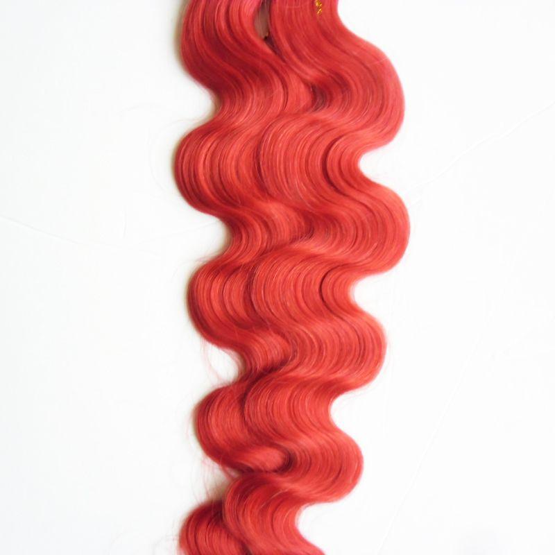 أحمر الشعر الشريط 12