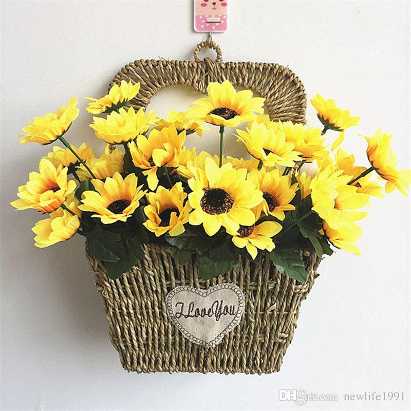 Wohnzimmer Zubehor Dekor Dekoration | Grosshandel Sonnenblume Schlafzimmer Wohnzimmer Dekor Gefalschte