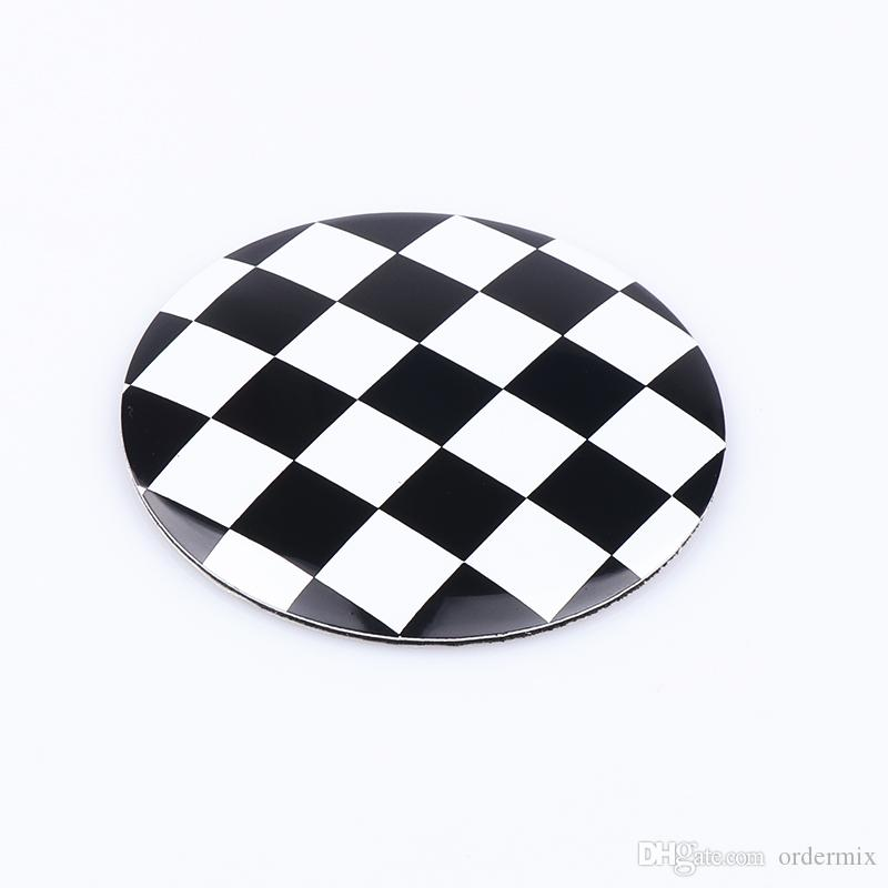 4 قطعة / الوحدة التصميم 56 ملليمتر أسود أبيض شعرية سيارة الاطارات عجلة القيادة مركز المحور كاب شعار شارات شارة رمز ملصق