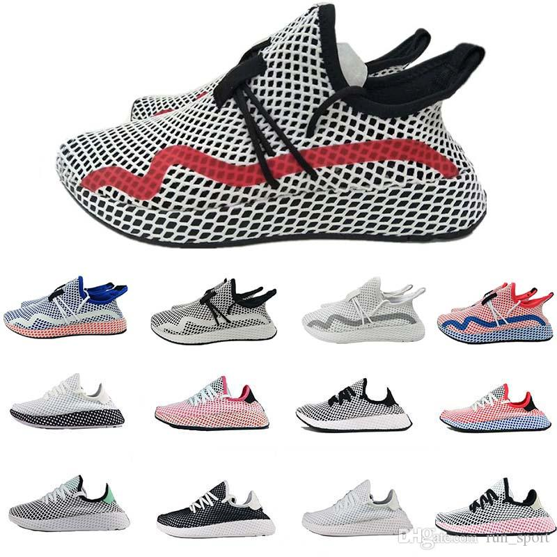 f749cc9de53fb High Quality Women Deerupt Human Race Tennis Running Shoes Pharrell  Chaussures Deerupt Runner Men Shoes Sports Sneakers Wholesale Eur 36 45  Canada 2019 From ...