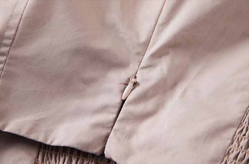 Korean fashion clothing Crop top women ruffle blouse womens tops and blouses shirts black short sleeve summer deep v neck top