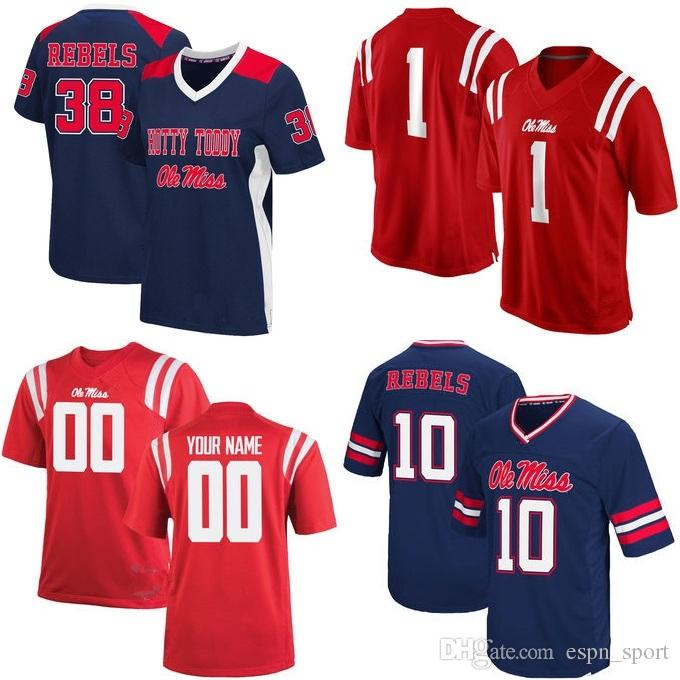 2019 Factory Outlet Ncaa Ole Miss Rebels 1 38 15 College Football