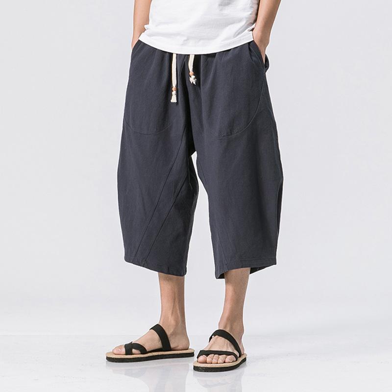 Acquista Abbigliamento Classico Da Uomo Casual Pantaloni Larghi