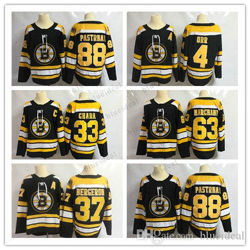 53ab3c477 New Hockey Jerseys 46 David Krejci 47 Torey Krug 63 Brad Marchand 88 ...