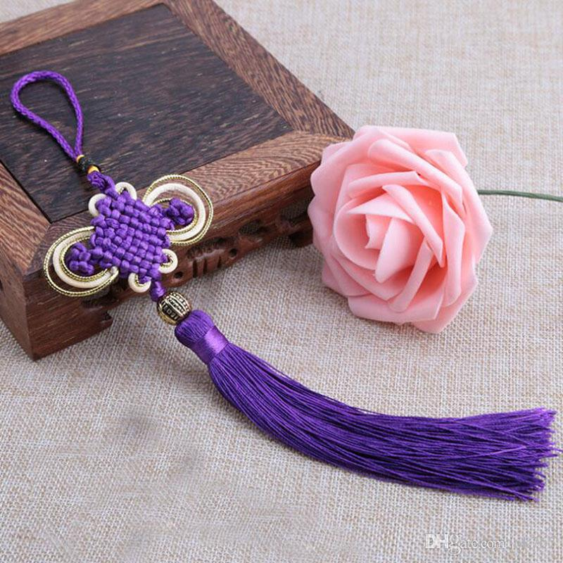 Traditional Chinese Knot Pendant Lucky kont oration Chinese Characters Fu Word Spring Pendant Gift Car Hanging Accessory souvenir