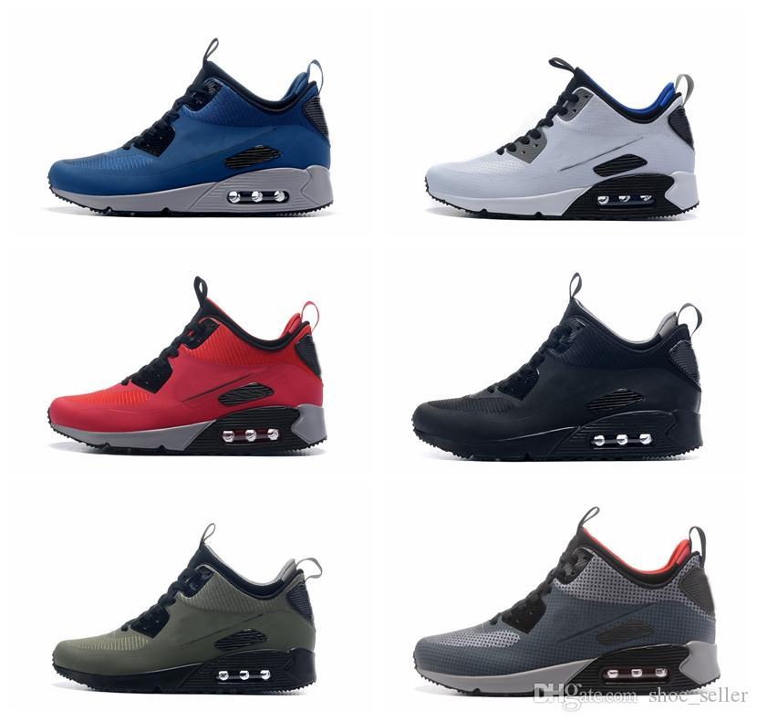 premium selection 1aa5f 407e2 Acquista Nike Air Max 90 Mid Chicago Needs 25 Anniversary Sneakerboot  Autunno Inverno Ready Scarpe Sportive Da Corsa Uomo Taglia US7 US12 A   91.29 Dal ...