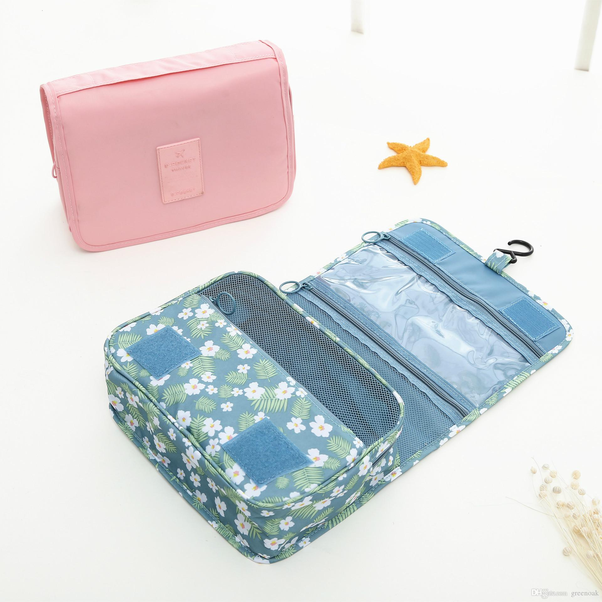 Fashion Hanging Toiletry Bag Large Capacity Portable Cosmetic Organizer  Make Up Storage Bags With Hook Universal Outdoor Travel Kits UK 2019 From  Greenoak 815aa5326d434