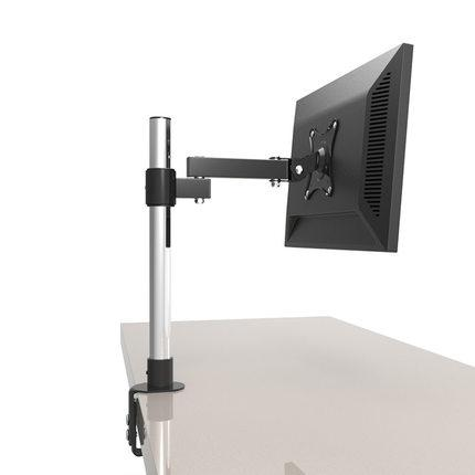 13 24 Lcd Screen Desktop Tv Mount Monitor Holder Stainless Steel Rotary  Lifting Retractable Table Clamping Mount Home Audio Store Audio Video  Solutions From ...