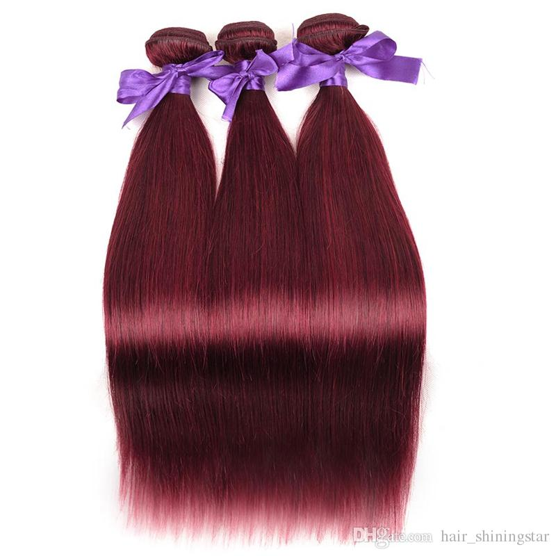 99j Hair Extension Weft Shining Star Factory Supply Brazillian Hair