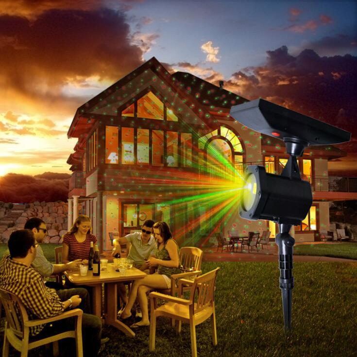Christmas Projector.Solar Powered Christmas Laser Projector Waterproof Christmas Laser Spotlights Leds For Lawn Garden Home Party Decoration Ooa5941
