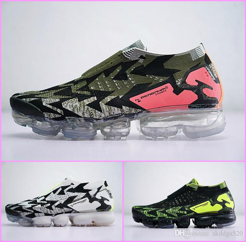 2018 Wholesale Lab VaporMax Moc 2 x ACRONYM joint cushion FK running shoes Sneakers Fashion Designer Brand Chaussure Tn Sports Shoes US 5-11 free shipping low price buy cheap with credit card cheap sale finishline IcXSF