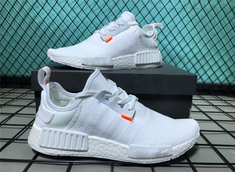 6d7b52096454 New Designer Running Shoes NMD OW Not For Running Herzo Black White ...