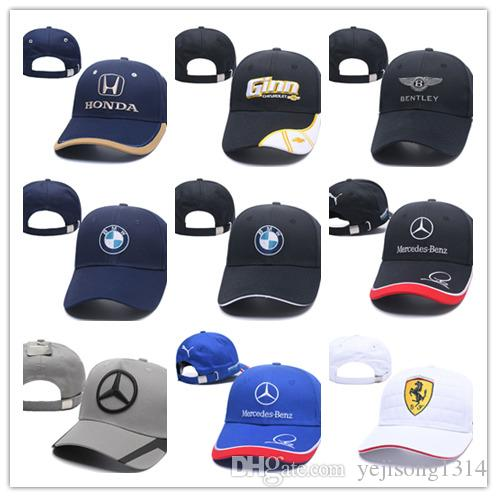 2018 Newest Gorras Dad Hat Cotton Embroidery F1 Racing Cotton ... fd8b939ad3c