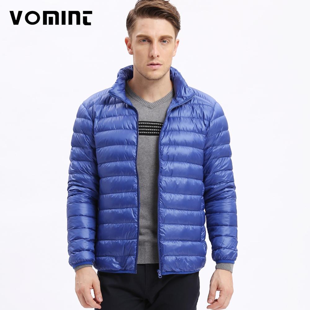 c5d4ca48e 2019 VOMINT Men S Fashion Hot Sale Down Jacket Ultra Light Down ...