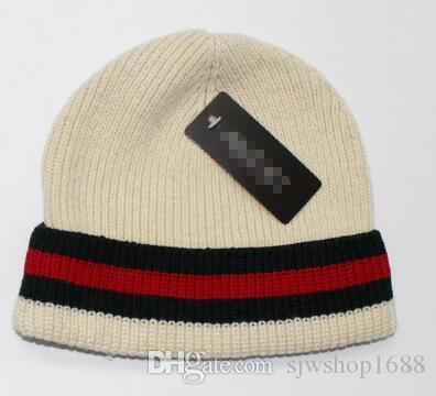 Compre Nueva Moda De Invierno Y Otoño Sombrero Caliente De Alta Calidad Hip  Hop Cap Hombres Mujeres Sombreros Gorras De Punto Ajustable f6f25e63cf6