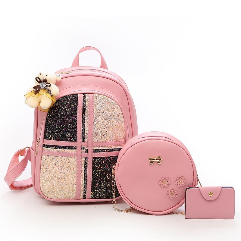 90be30e20a EnoPella Fashion Pu Leather Women Backpack Lady Backpack For Teenage Girl  Tassel Bag Bagpack School Bag Kids Backpacks Dakine Backpacks From  Whataver