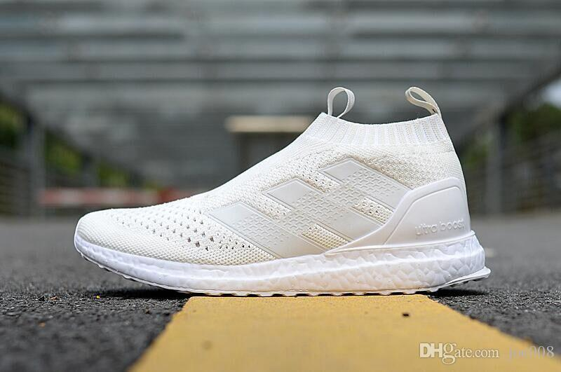 2017 Fashion ACE 16+ Pure Control Ultra Boost Shoes Triple White MID ... 6416aa3d2016
