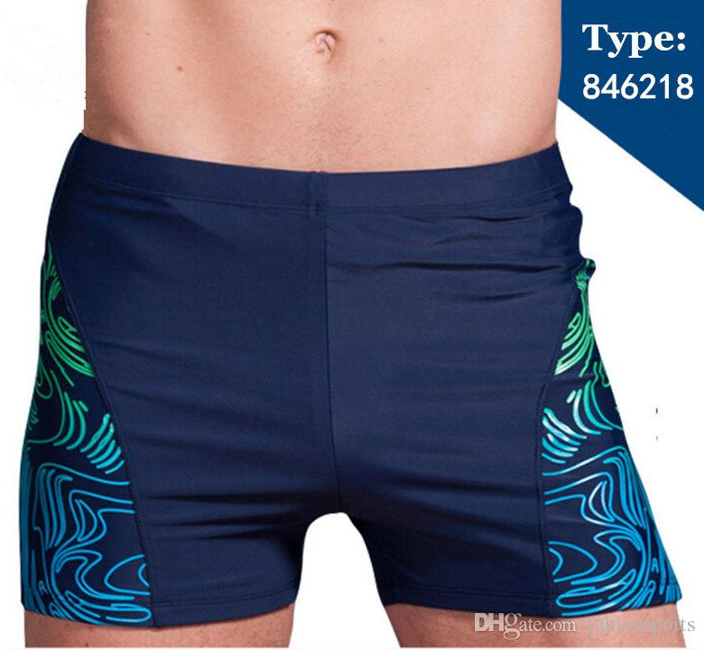 f536324ec9258 2019 XL 5XL Plus Size Swimwear Men Swimming Trunks Zipper Pocket Swimsuit Mens  Swim Shorts Beach Man Wear Boxer Briefs Bathing Suits From Fahionsports, ...