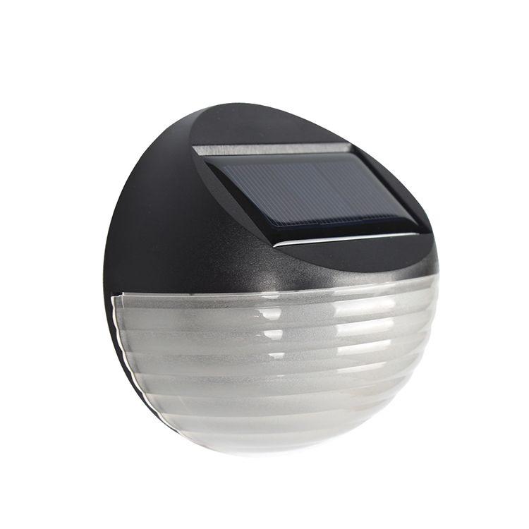 High Quality New Waterproof Solar Motion Sensor Solar Powered Garden Lights LED Outdoor Landscape Wall Light For Garden and Step Lamp