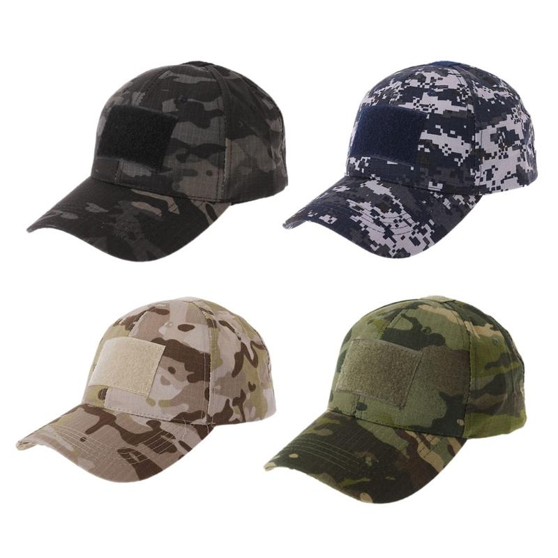 3824d9936553d 2019 Tactical Camo Cap Army Baseball Hat Patch Digital Desert SWAT CP Caps   0706 From Heheda5