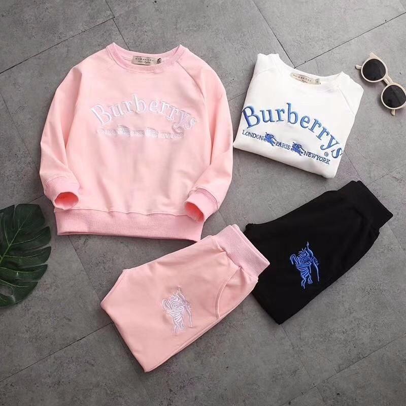 2018 Fashion Luxury Kids Clothing Sets Brand Design Boys And Girls