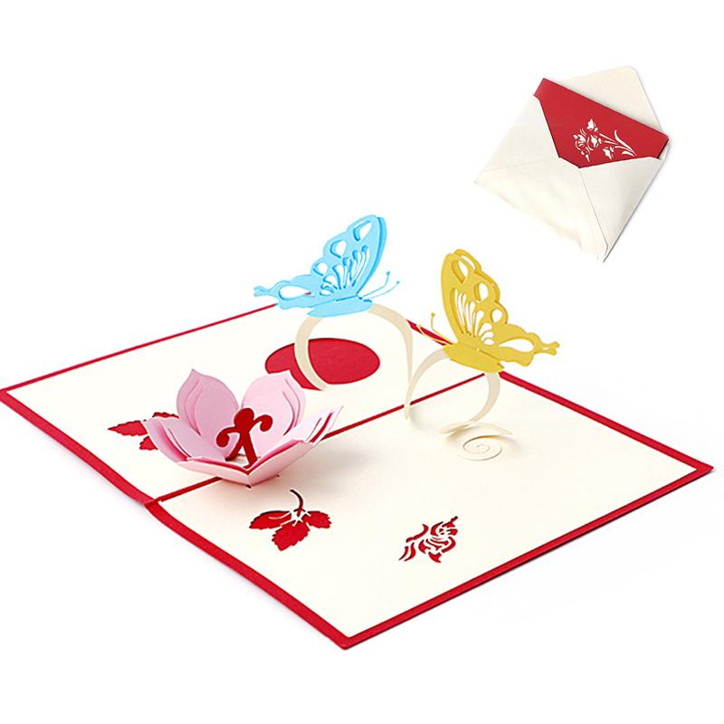 3d pop up holiday greeting cards flower butterfly christmas 3d pop up holiday greeting cards flower butterfly christmas thanksgiving gift birthday greetings cards birthday online cards from griffith 2308 dhgate m4hsunfo