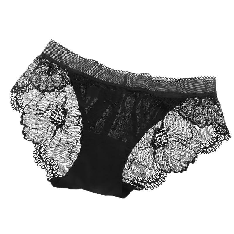 a9569a781 Women Sexy Lady Knickers Panties Briefs Underpants Lace Low Rise See ...