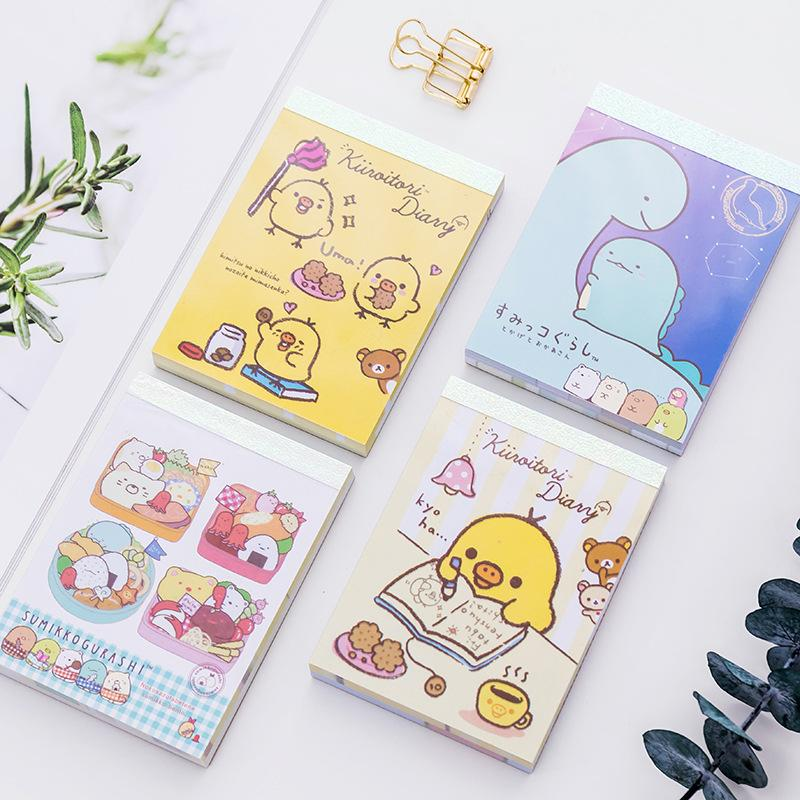 Memo Pads Notebooks & Writing Pads Peerless Diy Paper Sticker Decoration Decal Album Scrapbooking Seal Sticker Memo Pad Office Supplies Stationery Gift