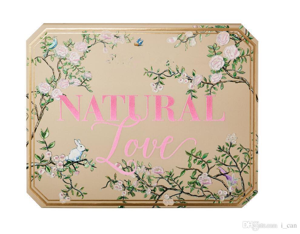 Dropshipping in stock Make-up Lidschatten-Paletten Chocolate Natural Love Lidschatten Kosmetik Kollektion Ultimate Neutral Set