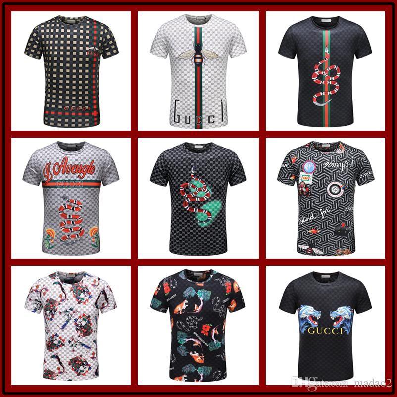2018 Luxury Polo T Shirts For Men Women Designer Boss T Shirts