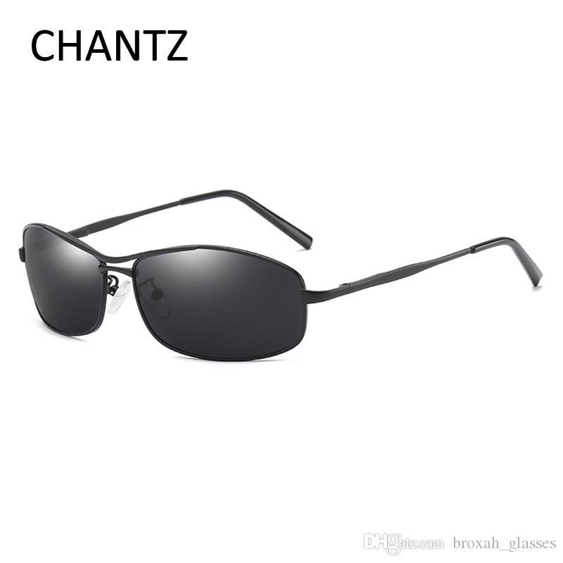 02cfc8d371 Vintage Small Size Metal Polarized Sunglasses Men 2018 Driving Sun Glasses  Male Brand Shades UV400 Lunette De Soleil Homme 859 Bifocal Sunglasses Retro  ...