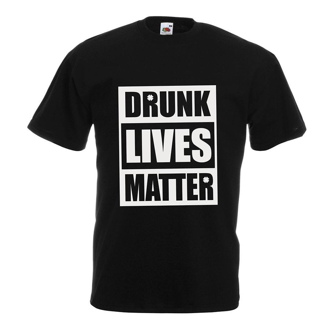 058dde863 Drunk Lives Matter Funny Saint Patrick'S Shirts For Mens, St Patty'S Day T  Shirt Making Companies 7 T Shirt From Lijian82, $12.08| DHgate.Com
