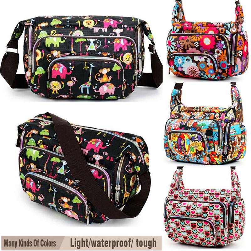 320877bc8e Women Messenger Bags Print Floral Cross Body Shoulder Canvas Hobo Bag Nylon  Oxford Fabric Women S Handbag Bolsas Femininas Cute Y18102503 Cheap Bags  Cheap ...