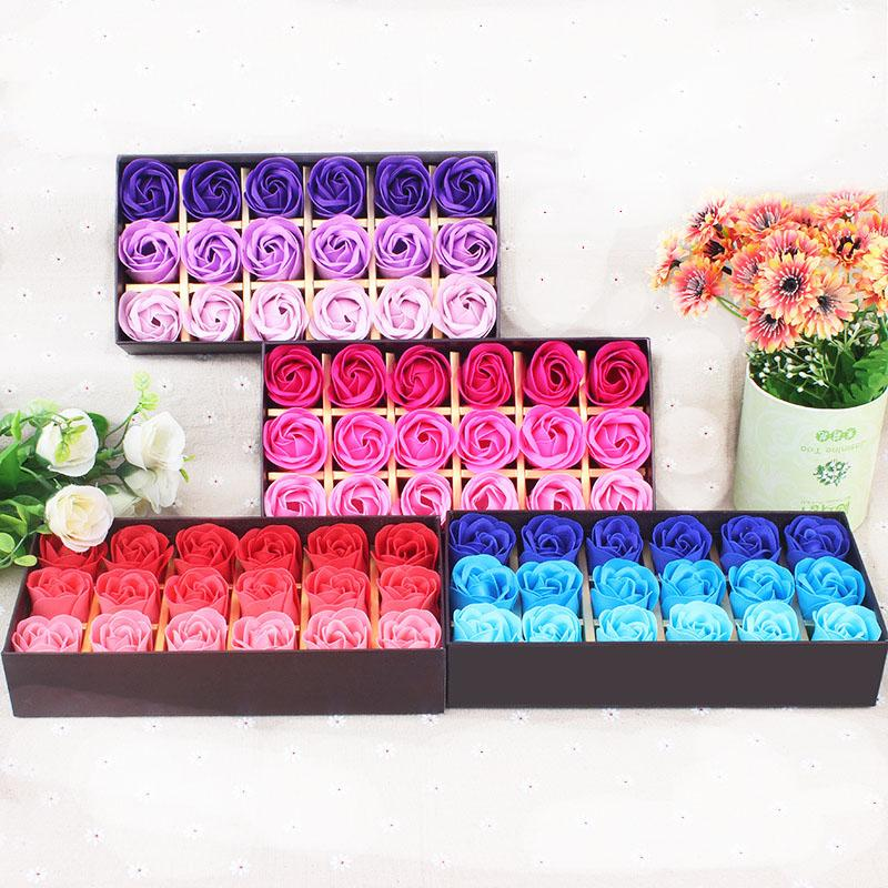 2019 Meihon Box Soap Flower Valentine S Day Gift Soap Roses Gift