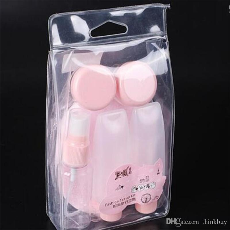 Spray Perfume Bottle Cream Box Squeeze Bottle DIY Mask Stick Cleansing Tools Puff Travel