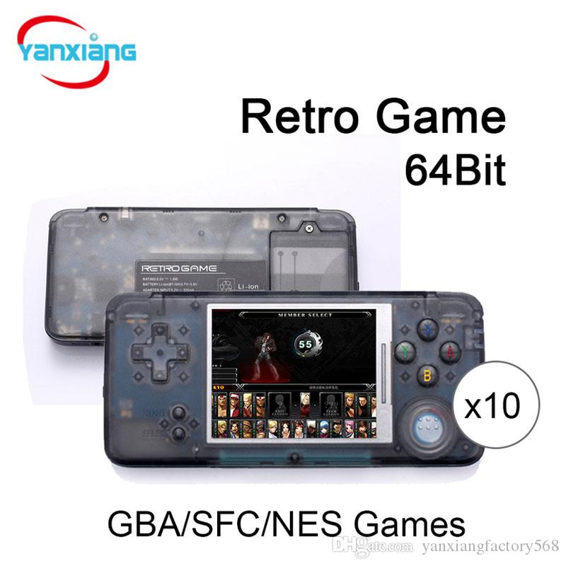 New Arrival Retro Game Console 64bit Av Output Video Games Consoles ...