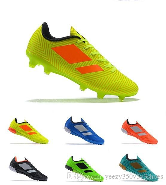New Arrival Mens Turf Soccer Cleats Indoor Soccer Shoes Low Top ... d26db8f46ab