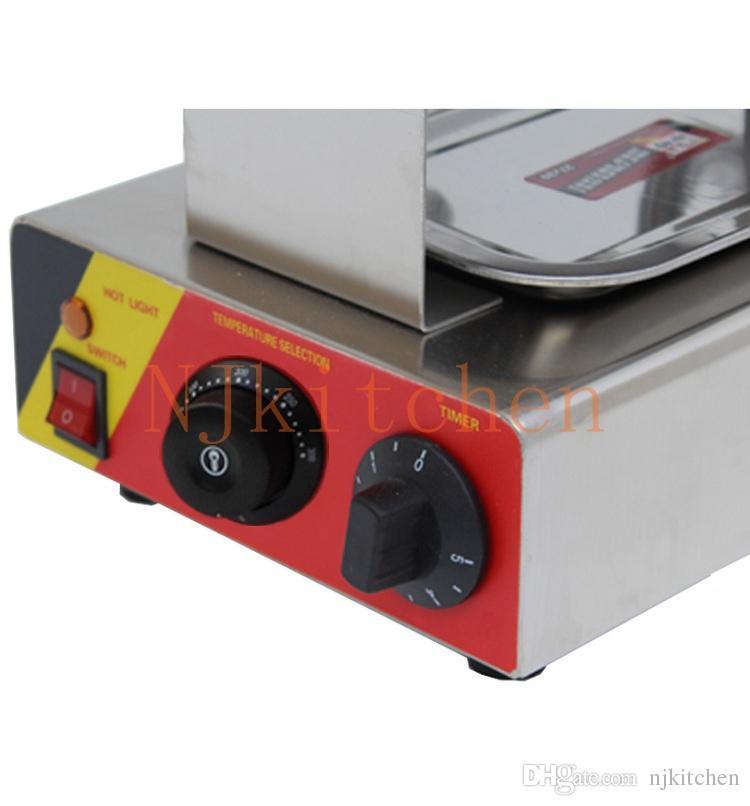 Ücretsiz Kargo 110 v 220 v elektrik kabarcık gözleme şekil ticari Hong Kong tarzı yumurta waffle dondurma koni maker makinesi demir pan kalıp fırında