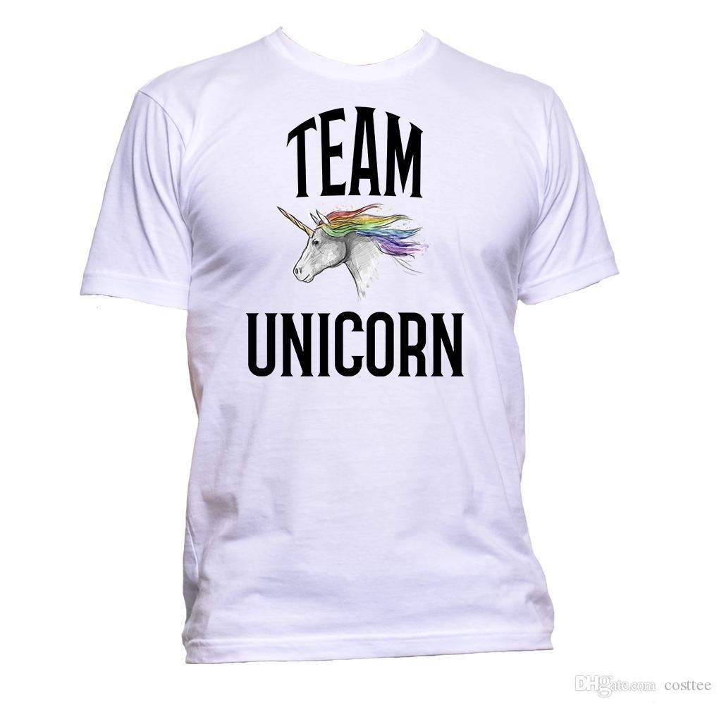 0ca8ec00 Team Unicorn Cute Horse T Shirt Mens Womens Unisex Fashion Comedy Cool Funny  Shop T Shirts Online T Shirt Shirt From Jie48, $14.67| DHgate.Com